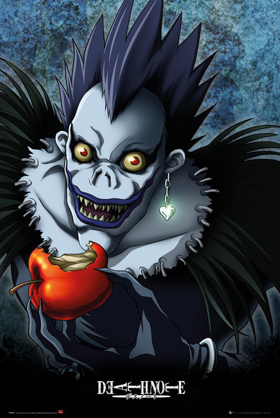 Death Note   Apple Poster