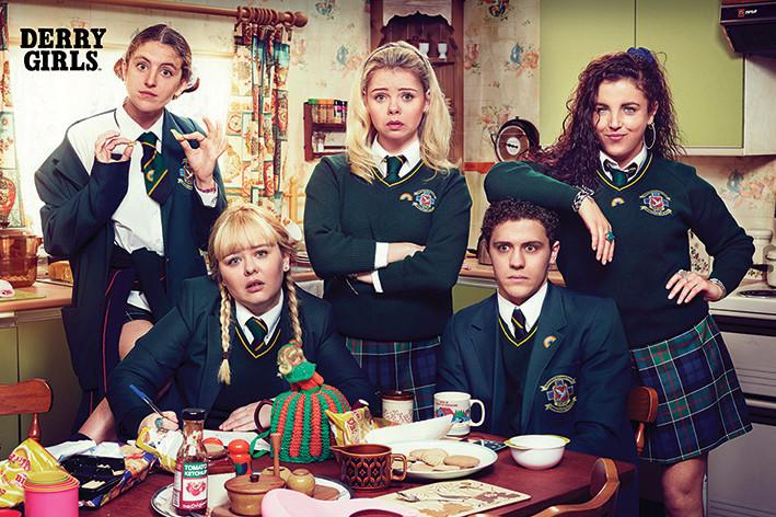 Derry Girls - Kitchen Poster
