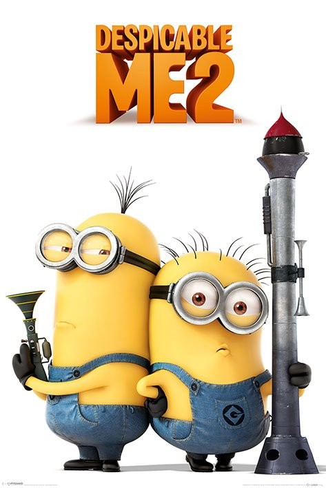 DESPICABLE ME 2 - armed minions 2013 Poster
