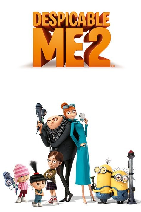 DESPICABLE ME 2 - characters Poster, Art Print
