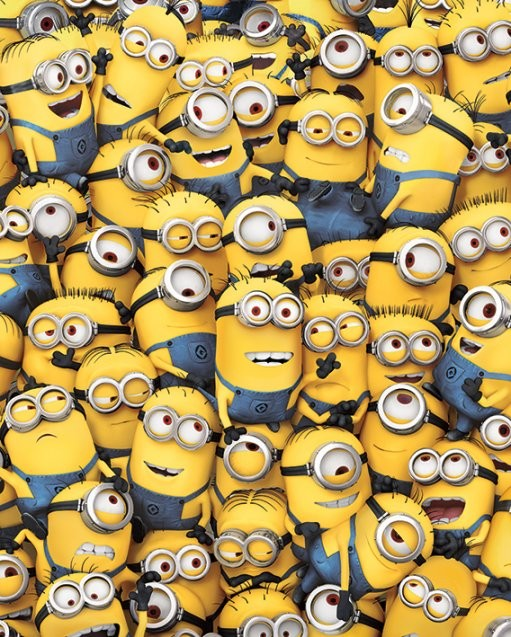 Poster Despicable Me - Many Minions