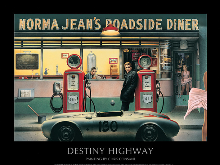 Destiny Highway - Chris Consani Art Print