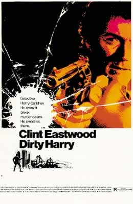 DIRTY HARRY - clint eastwood Poster