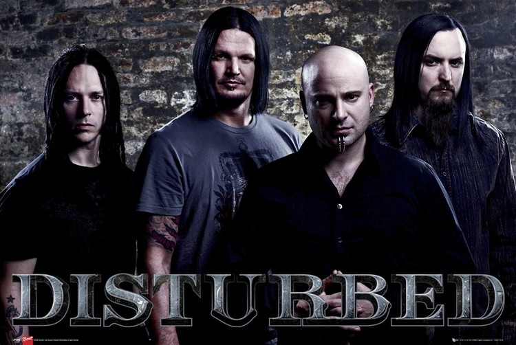 Disturbed Band Poster Sold At Europosters