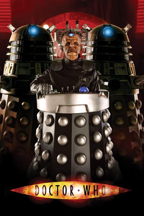 DOCTOR WHO - davros Poster