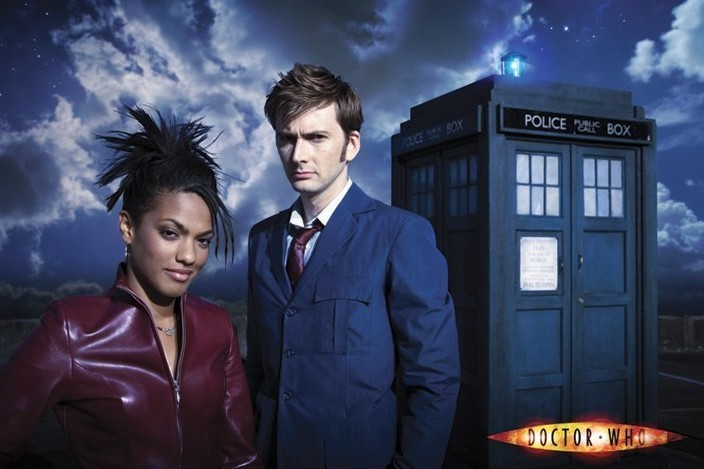 DOCTOR WHO - doctor and martha Poster, Art Print