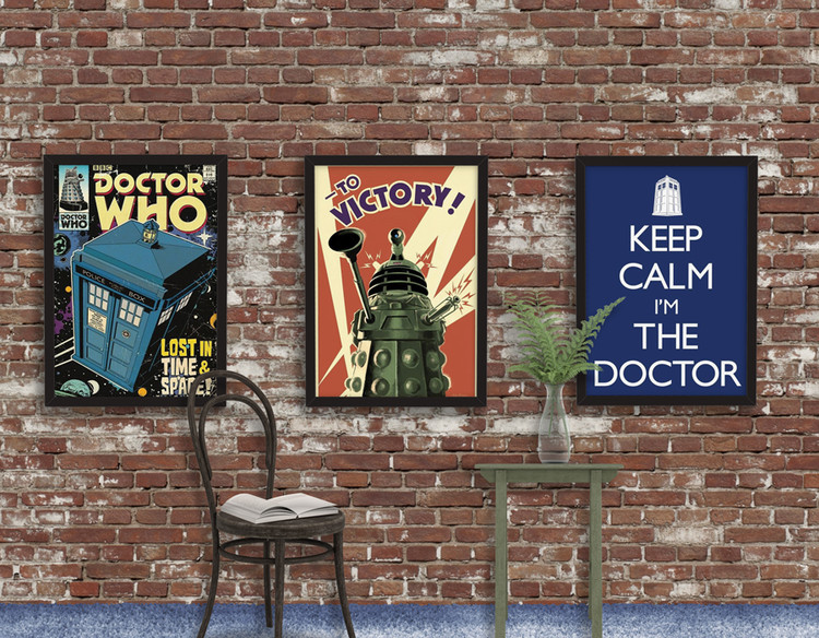 Doctor Who - Tardis Comic Poster