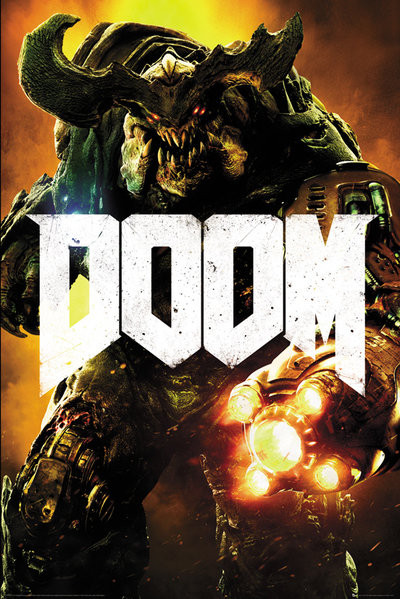 Doom Cyber Demon Poster Sold At Abposters Com