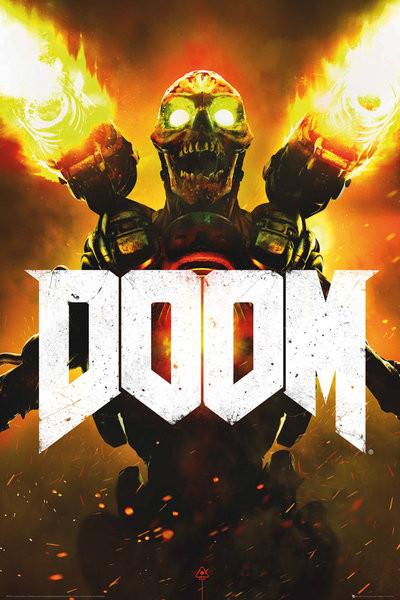 Doom - Key Art Poster, Art Print