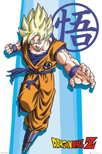 Dragon ball z ss goku poster sold at abposters thecheapjerseys Gallery