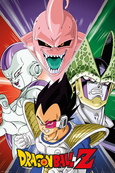 Pôster Dragon Ball Z - Villains