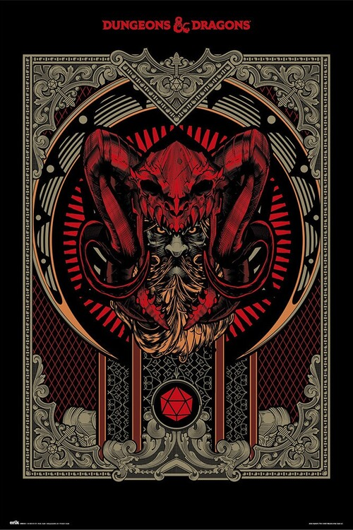 Poster Dungeons & Dragons - Player's Handbook