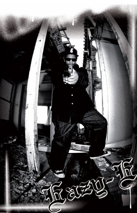 Eazy-E - spray Poster