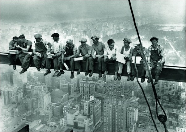 Ebbets - Lunch On a Skyscraper New York City Art Print