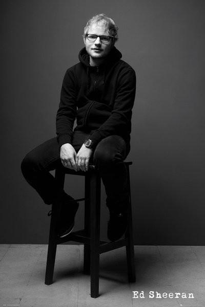 Poster Ed Sheeran - Black and White