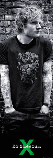 Ed Sheeran - Skull Poster