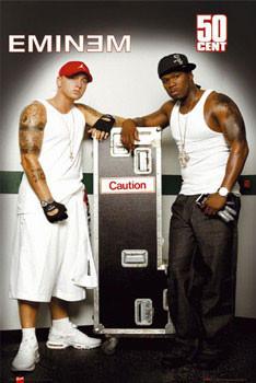 Pôster Eminem & 50 Cent