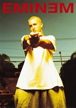 Pôster Eminem - anger