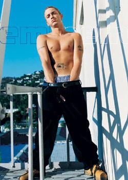 Eminem - finger Poster