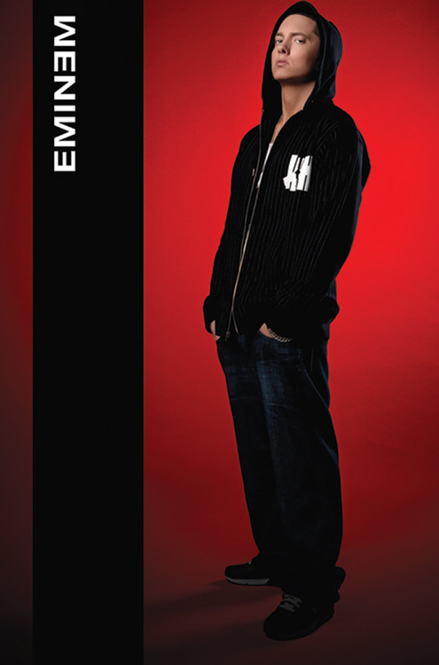 Pôster Eminem - hoodie