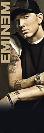 Eminem - tattoo Poster, Art Print
