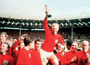 England - 66 celebration Poster, Art Print