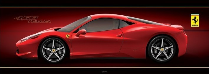 Ferrari 458 Italia Poster Sold At Ukposters