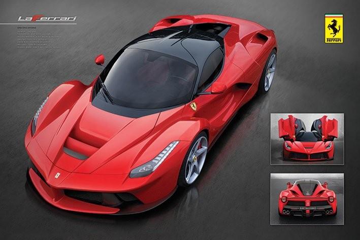 Ferrari - la Ferrari Poster