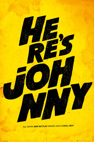 FILM QOUTES - johnny Poster