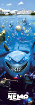 FINDING NEMO - one sheet Poster, Art Print