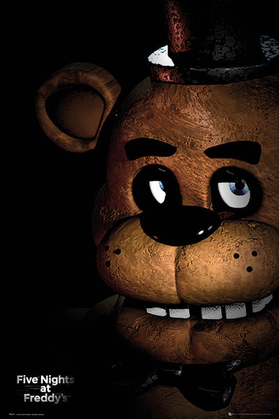 Five Nights At Freddys Fazbear Poster