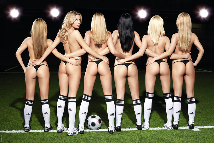 Football girls Poster