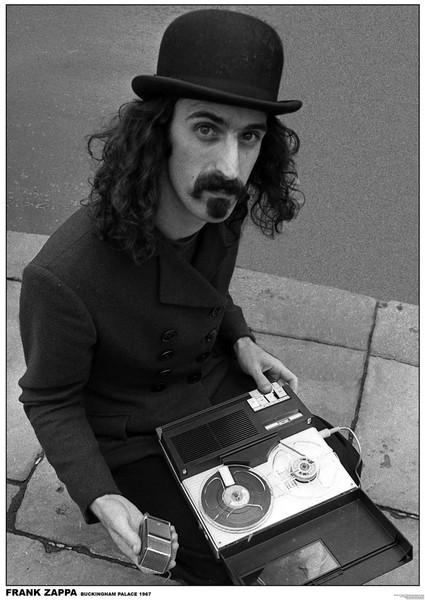 Frank Zappa - Buckingham Palace, London 1967 Poster