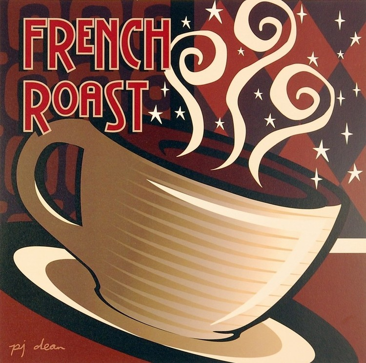 French Roast Art Print