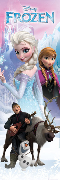 Poster Frozen - Anna and Elsa