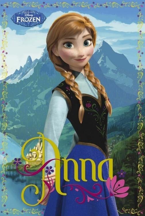 Poster Frozen - Anna