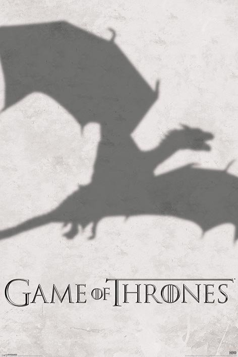 GAME OF THRONES 3 - shadow Poster | Sold at Europosters