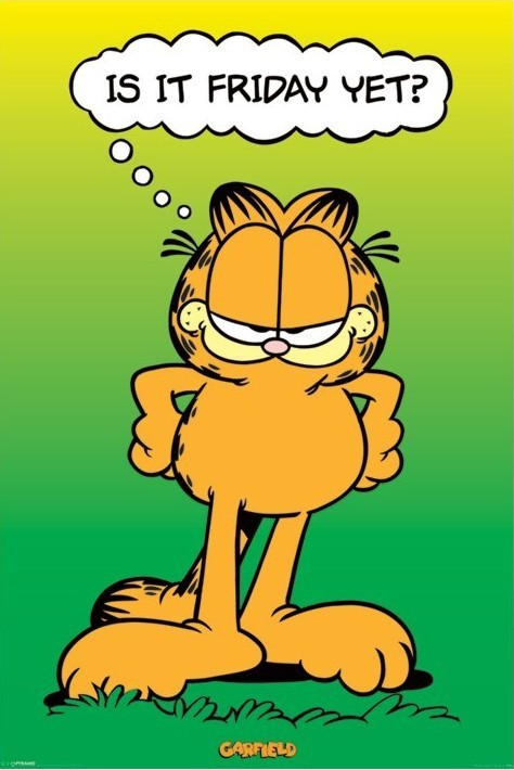 GARFIELD - is it friday yet ? Poster