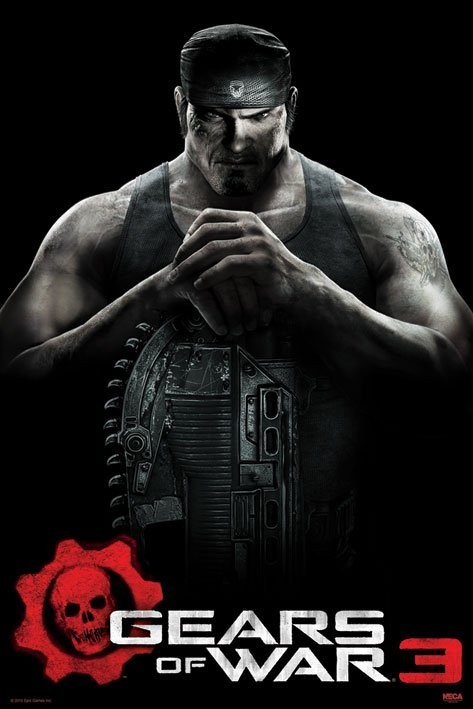 Poster  Gears of war 3 - marcus