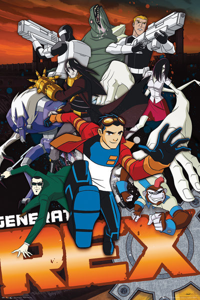 GENERATOR REX - group Poster