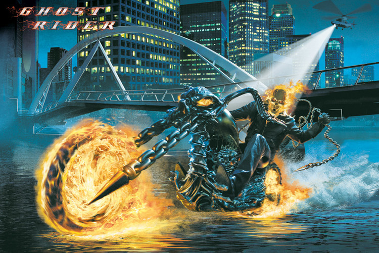 Pôster GHOST RIDER - riding