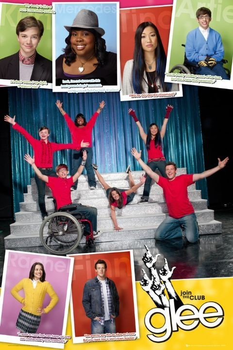 GLEE - compilation Poster