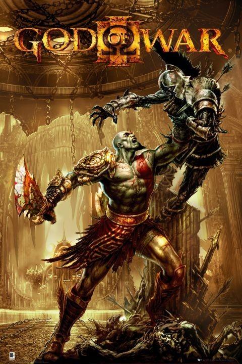 GOD OF WAR 3 - pick up Poster, Art Print