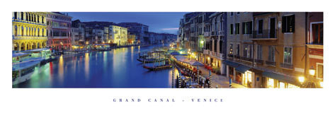 Grand canal - venice, italy Poster