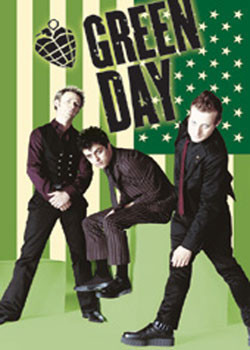 Pôster Green Day - flag