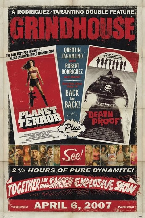 GRINDHOUSE - one sheet Poster