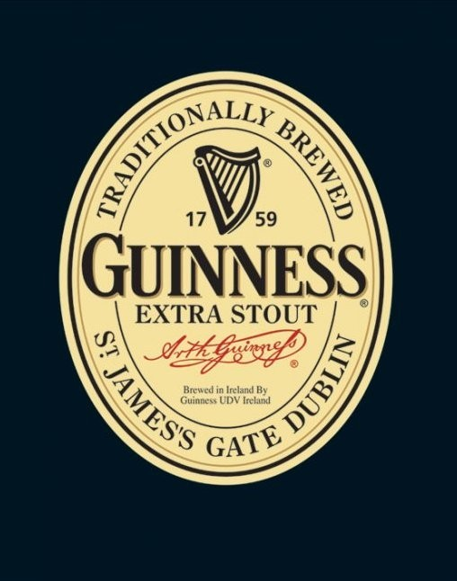 Guinness - label Poster   Sold at Europosters