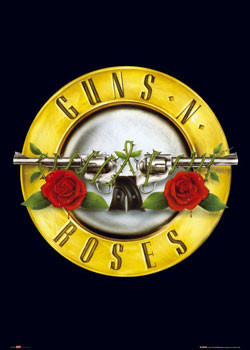 Gunsnroses logo poster sold at europosters gunsnroses logo thecheapjerseys Choice Image