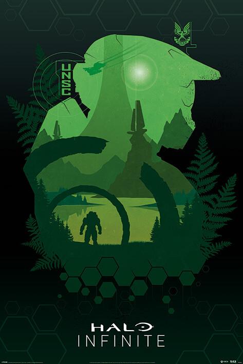 Poster Halo: Infinite - Lakeside