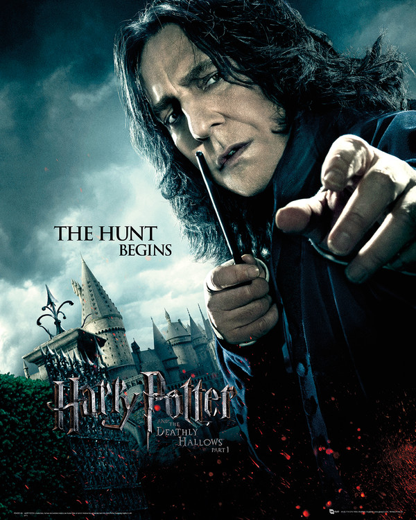 Harry Potter and the Deathly Hallows Part 1 - Severus Snape Art Print